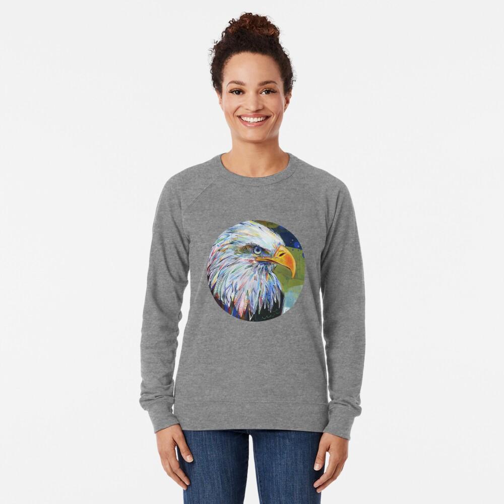 Bald eagle painting - 2012 Lightweight Sweatshirt