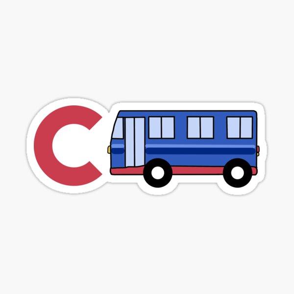 C BUS Columbus Sticker