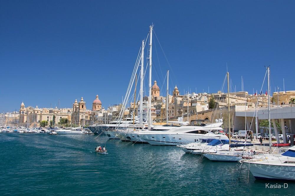 Malta: Vittoriosa Yacht Marina by Kasia-D