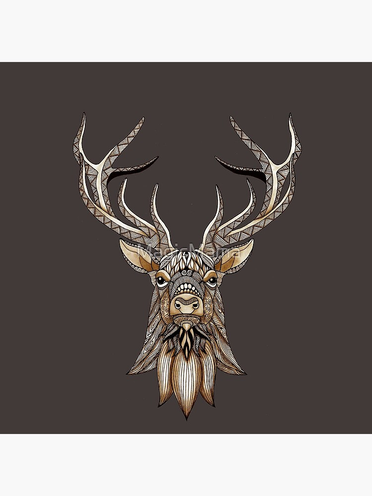 Brown Stag by MagicMama
