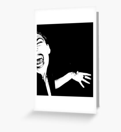 You can Rage against the Machine but don't Mess with the Hand of Fate Greeting Card