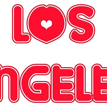 Los Angeles Love America USA by FrancisDigital