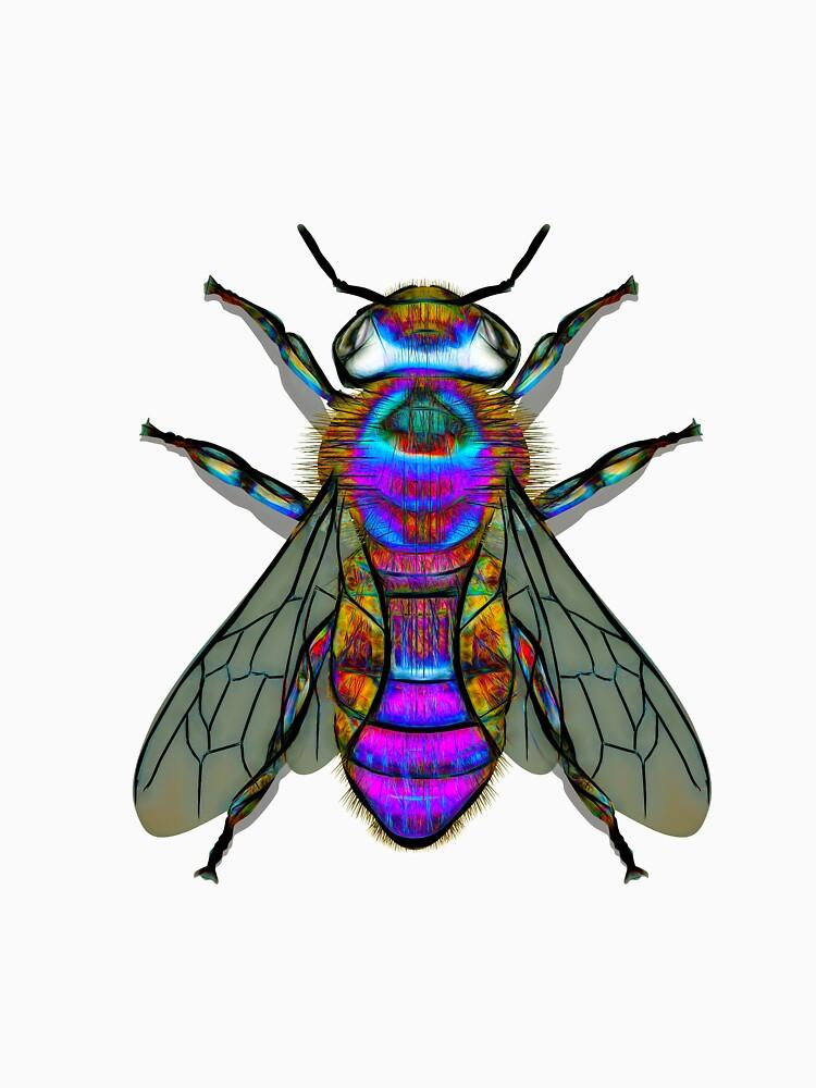 Bee A Purple Bumble Bee by CrunchySqueak