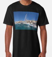 Malta: Vittoriosa Yacht Marina Long T-Shirt