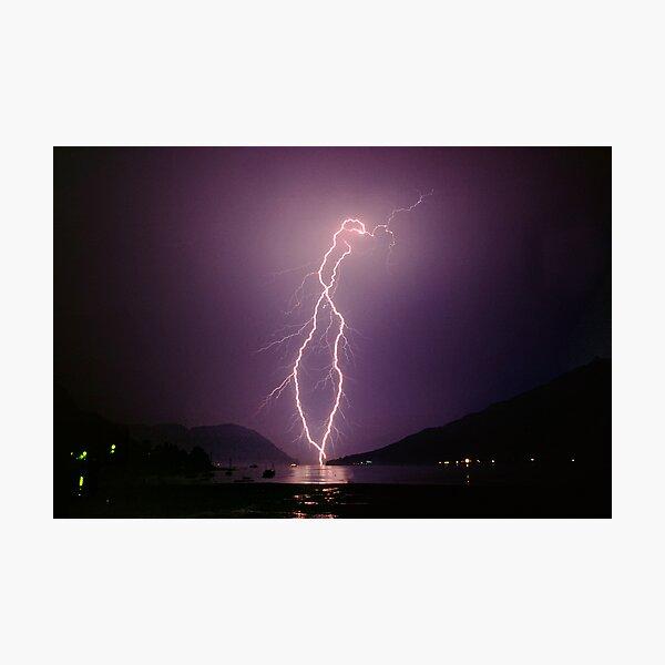 Loch Goilhead, Scotland. Photographic Print