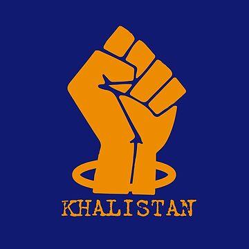 Khalistan Fist by inkstyl