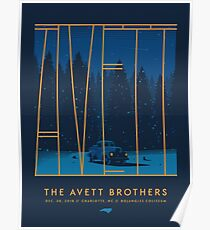 The Avett Brothers Artwork New Year Poster
