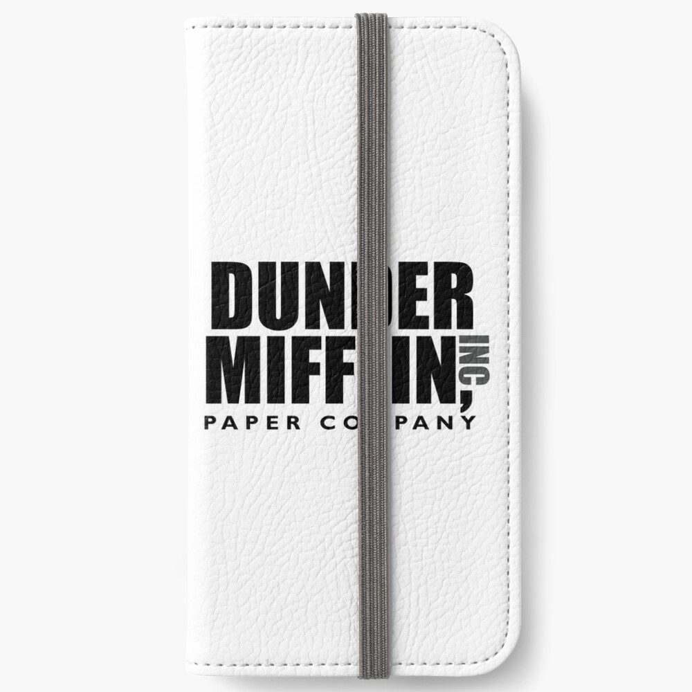 The Dunder Office Mifflin Inc. Design, T-Shirt, tshirt, tee, jersey, poster, Original Funny Gift Idea, Dwight Best Quote From iPhone Wallet