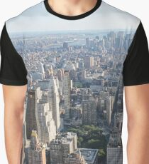 #famousplace, #internationallandmark, #NewYorkCity, #USA, #americanculture, #city, #cityscape, #skyscraper, #architecture, #panoramic Graphic T-Shirt