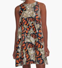Red-banded Altinote Peru A-Line Dress
