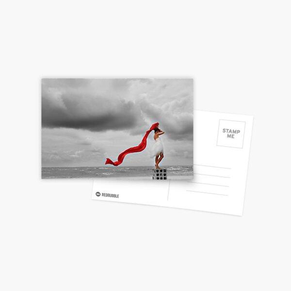 """The Winner Takes It All"" Postcard"