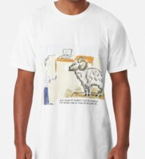 "Funny Tech Cartoon Humour: ""The Wrong Kind of Ram..."" Long T-Shirt"