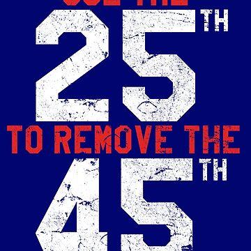 25th 45th | Remove Trump by 8645th