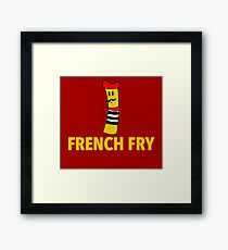 French Fry Framed Print