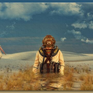 The Deep Desert Diver by rgerhard