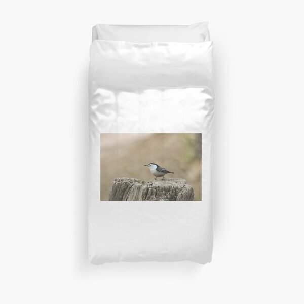 Nuthatch 1 Duvet Cover