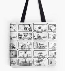 Wall-E Storyboard Tote Bag