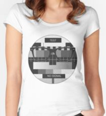 Retro Geek Chic - Headcase Old School Women's Fitted Scoop T-Shirt