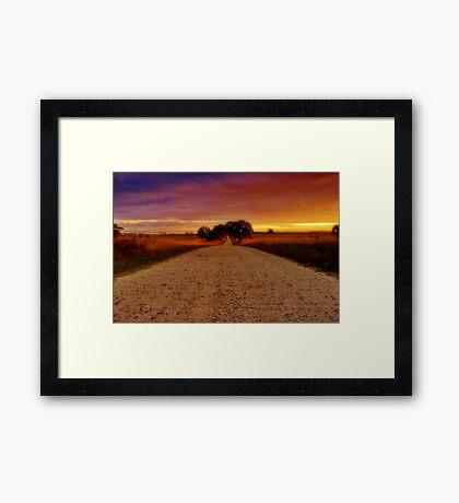 """Southbound"" Framed Print"