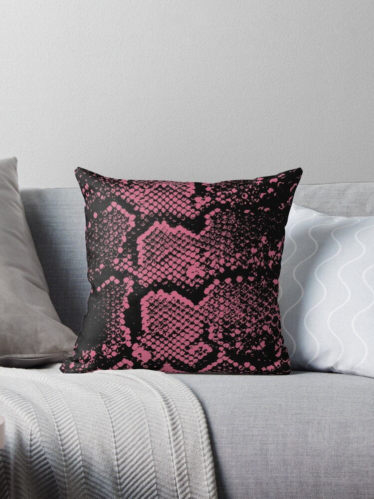 Python animal print in pink by chihuahuashower
