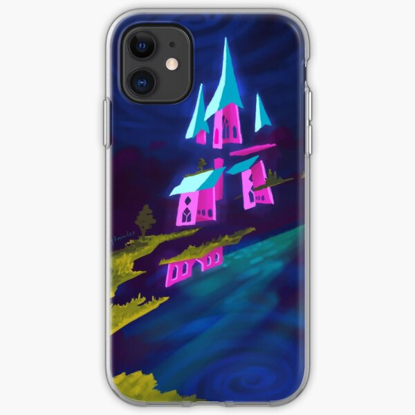 Castle in the Sky iPhone Soft Case