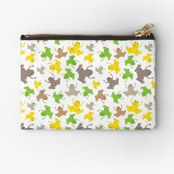 African Clawed Frogs Galore! Zipper Pouch