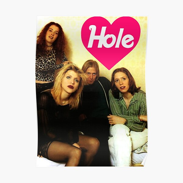 hole band poster design Poster