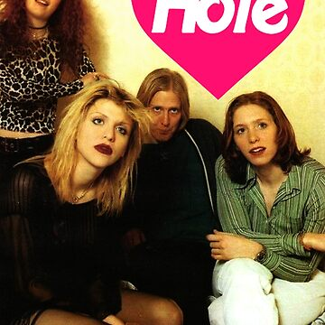 hole band poster design by livethroughthis