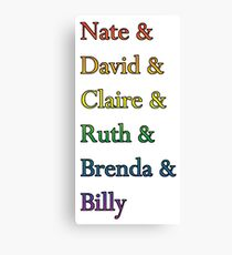 Nate David Claire Ruth Brenda Billy Six Feet Under Names