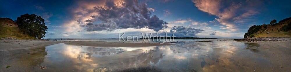 240˚ Tauranga harbour entrance  by Ken Wright