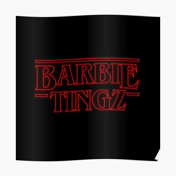Stranger Things Barbie Tingz Nicki Minaj Poster