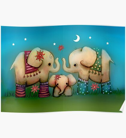 baby elephant Poster