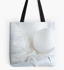 White table Tote Bag