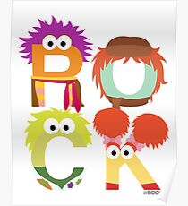 "A Fraggle ""ROCK"" Poster"