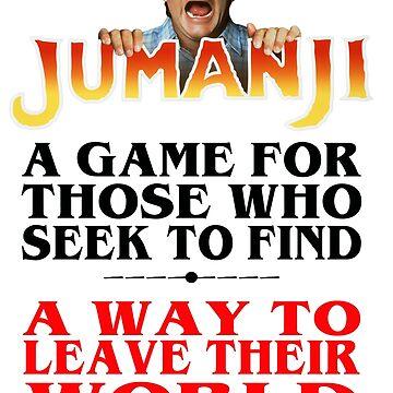 Jumanji by patriikamikaze