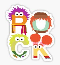 "A Fraggle ""ROCK"" Sticker"
