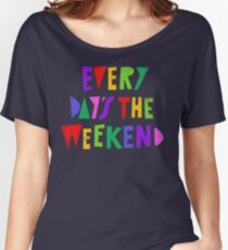 Week-end tous les jours T-shirts coupe relax