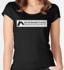 Art of JosephG Women's Fitted Scoop T-Shirt