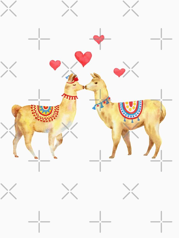 Llamas in llove 1 by nadyanadya