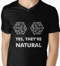 D20 Yes They're Natural T-Shirt