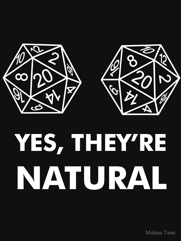 D20 Yes They're Natural | Women's T-Shirt