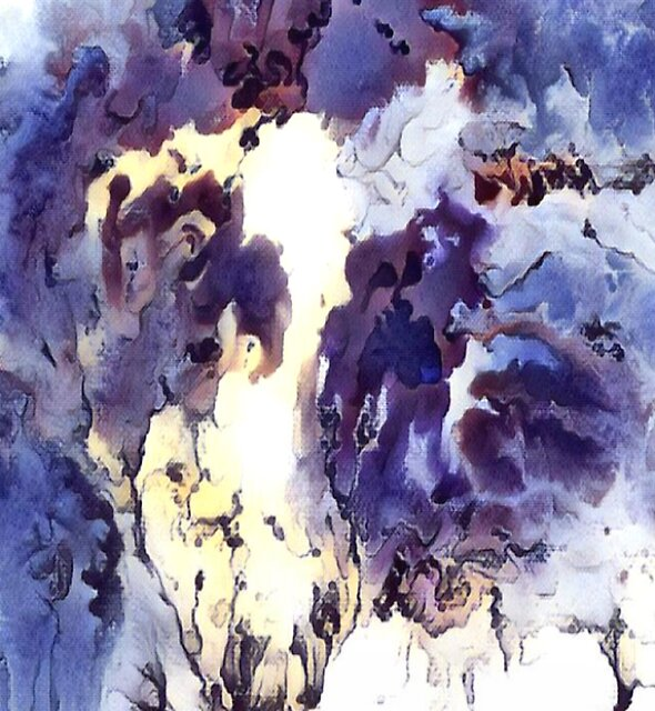 DREAMS I - Watercolour abstract by Printpix