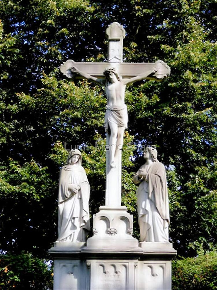 Women: Last At The Cross; First At The Tomb by Marie Sharp