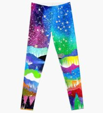 Winter Konstellationen Leggings