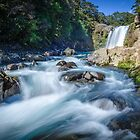 Tawhai Falls by Ian Rushton