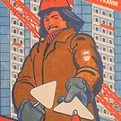 """Your home is in your hands""- USSR, 1988 - Soviet Propaganda Poster by dru1138"