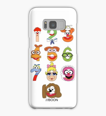 Muppet Babies Numbers Samsung Galaxy Case/Skin