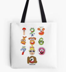 Muppet Babies Numbers Tote Bag
