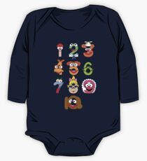 Muppet Babies Numbers One Piece - Long Sleeve
