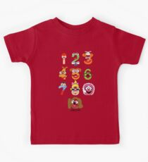 Muppet Babies Numbers Kids Clothes